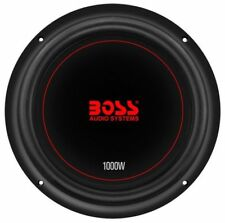 Boss Chaos Exxtreme 10 Inch 1000 Watt RMS Dual Coil 4 Ohm Car Audio Subwoofer