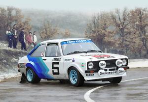 Italeri 3655, Ford Escort RS 188 Mk II, WRC Rally Monte Carlo 1979, 1:24, NEU
