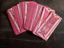 Anime Cardcaptor Sakura Clow Cards Cosplay Fortune Tarot Card Captor Full Set 56