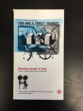 Radiohead You Are A Target Market Motion Picture VHS 1998 Interview France Rock