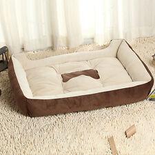 Pet Puppy Dog Cat Bed 90 X 70cm Warm Soft House Basket Nest Mat Waterproof