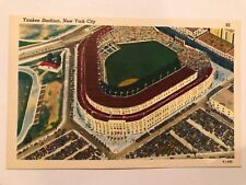 UNCIRCULATED~ YANKEE STADIUM NEW YORK CITY #95 POSTCARD K7,686