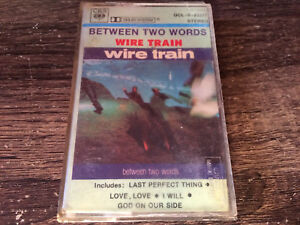 WIRE TRAIN - Between Two Words CASSETTE / Philippines