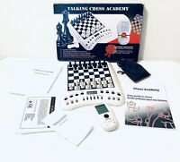 Rare Talking Chess Academy Game Draughts 6 In 1 Mind Sport Computer