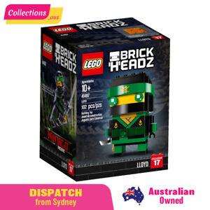 GENUINE LEGO Brickheadz Ninjago Lloyd - 41487 -FREE Shipping! Sealed Damaged Box
