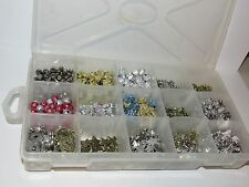 BIG LOT OF BEADS, CHARMS, PENDANTS - FREE US SHIPPING!