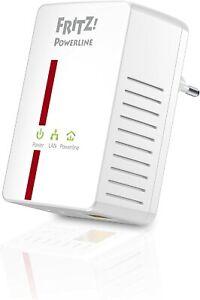 AVM FRITZ!Powerline 500E Einzeladapter - LAN Steckdose - NEUWERTIG