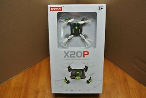 SYMA X20P 2.4G Mini RC Drone Smart Aircraft Kids Flying Toy NEW FACTORY SEALED
