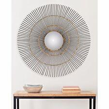 """Safavieh Sunburst Orbit Sun Wall Mirror Gold  20.5""""  MIR4021A"""