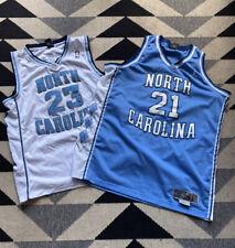 North Carolina Tar Heels Basketball Jersey Lot