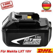 Neu Für Makita Wechsel Akku BL1850 18V 5,0 AH Li-Ion LXT400 BL1840 BL1830 BL1860