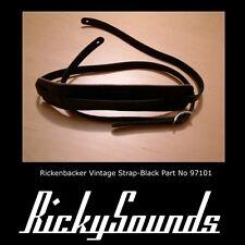 Rickenbacker Strap - Black - Brand New
