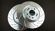 PHASE 2 FRONT BRAKE ROTOR DISCS FOR NISSAN 350Z INFINITI G35 BREMBO ONLY