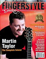 Fingerstyle Guitar Magazine Oct/Nov 2003 Martin Taylor The Complete Soloist