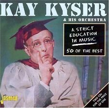 Strict Education In Music-50 Of The Best - 2 DISC SET - Kay & Hi (2002, CD NEUF)