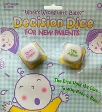 Goofy Gadgets For New Parents Whats Wrong with Baby? Decision Dice for New Paren