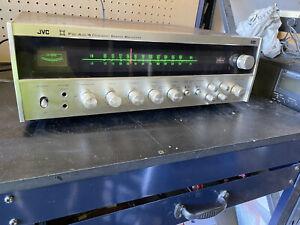 Rare Vintage JVC 4VR-5426X Stereo Receiver AM FM Radio Silver Face *FAST SHIP*