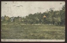 Postcard CANTON Ohio/OH   Nimisilla Park Houses/Homes & Giant Bird House 1907?