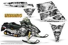 SKI-DOO REV MXZ 03-09 SNOWMOBILE SLED GRAPHICS KIT CREATORX DECALS INFERNO W