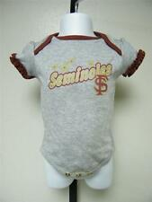 NEW-WITH-FLAW FLORIDA STATE SEMINOLES didas Creeper INFANTS 6-9M 6/9 MONTHS 28BM