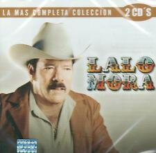 Lalo Mora CD NEW La Mas Completa Coleccion SET Con 2 CD's 30 Canciones !