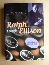 RALPH ELLISON A BIOGRAPHY Bob Burke SIGNED 1st ed hc Oklahoma TrackMaker series