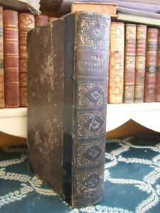 Charles Dickens - Pickwick Papers 1837 1ST/FIRST EDITION terrible condition!