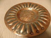 Small vintage copper dish
