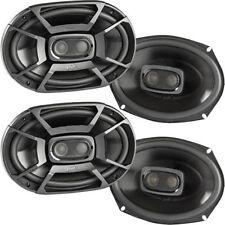 "4) Polk Db692 150W Rms 6"" x 9"" Marine Certified Coaxial Car Speakers (2 Pairs)"