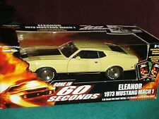 ERTL 1973 FORD MUSTANG MACH 1 ELEANOR GONE IN 60 SECONDS ORIGINAL CAR