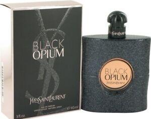 BLACK OPIUM 90mL By YVES SAINT LAURENT EDP Eau De Parfum Spray Women Perfume YSL