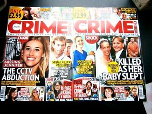 Crime Monthly Magazines Issue 21 December & January 22 (new) 2020/2021