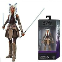 "Star Wars Black Series  6"" AHSOKA TANO REBELS Clone Wars Hasbro Figure Mint Box"