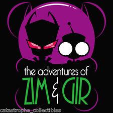 INVADER ZIM / BATMAN The Animated Series spoof NEW TeeFury TEEVILLAIN T-SHIRT