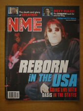 NME 1999 DEC 11 OASIS REBORN IN USA SABBATH CREATION