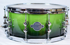 "Sonor Select Force Snare Drum SEF 11 1465 SDW Green Fade 14"" x 6.5"""