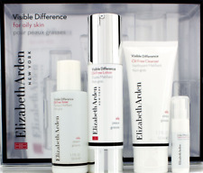 Elizabeth Arden Visible Difference Oil Free Lotion Toner Cleanser Serum SET