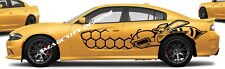 SUPER BEE HONEYCOMB SRT Decal Graphic Scat Pack RT Vinyl CHARGER MOPAR custom