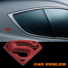 Superman Car Autos Brand Alloy Metal Super man S Logo Decal Badge Emblem Sticker
