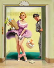 Art Frahm Pin Up Girls 1 Giclee Canvas Print Paintings Poster Reproduction