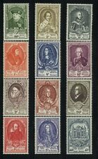 Belgium MNH Scott 435-45,B514 Value $ 291.00