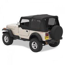 Jeep Wrangler TJ Verdeck Ersatz Verdeckhülle getönt inkl. Aufsteckfenster Black