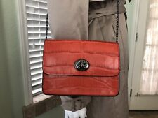 Coach BOWERY crossbody in croc embossed leather 57717
