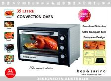 Brand New 35L Convection Rotisserie Grill BBQ Oven Powerful 1500W Modern Design