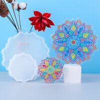 DIY Handmade Epoxy Resin Mould Sun Flower Coaster Silicone Mold