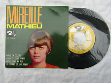 MIREILLE MATHIEU EP PARIS EN COLERE portugal barclay bep 700 134 N/M...45rpm pop
