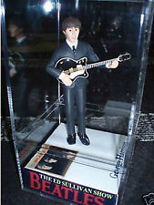 Ed Sullivan THE Beatles George case figure/figurine lineup statue