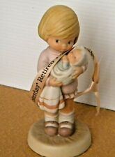 """Enesco Memories of Yesterday """"Can I Keep her mommy"""" 1987 Figurine Retired"""