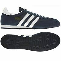 *NEW* Adidas Dragon Men's Shoes Trainers UK Size 7 - 12 G50919  Navy / White