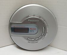 Panasonic SL-CT582V Portable AM/FM CD MP3 Player 30 Station Preset Silver Gray